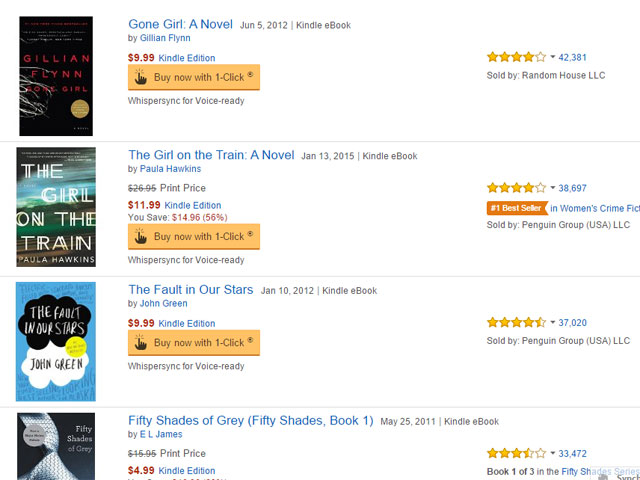 How to sort Kindle by number of reviews