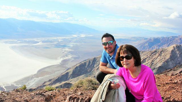 Dante's View: Death Valley 2016