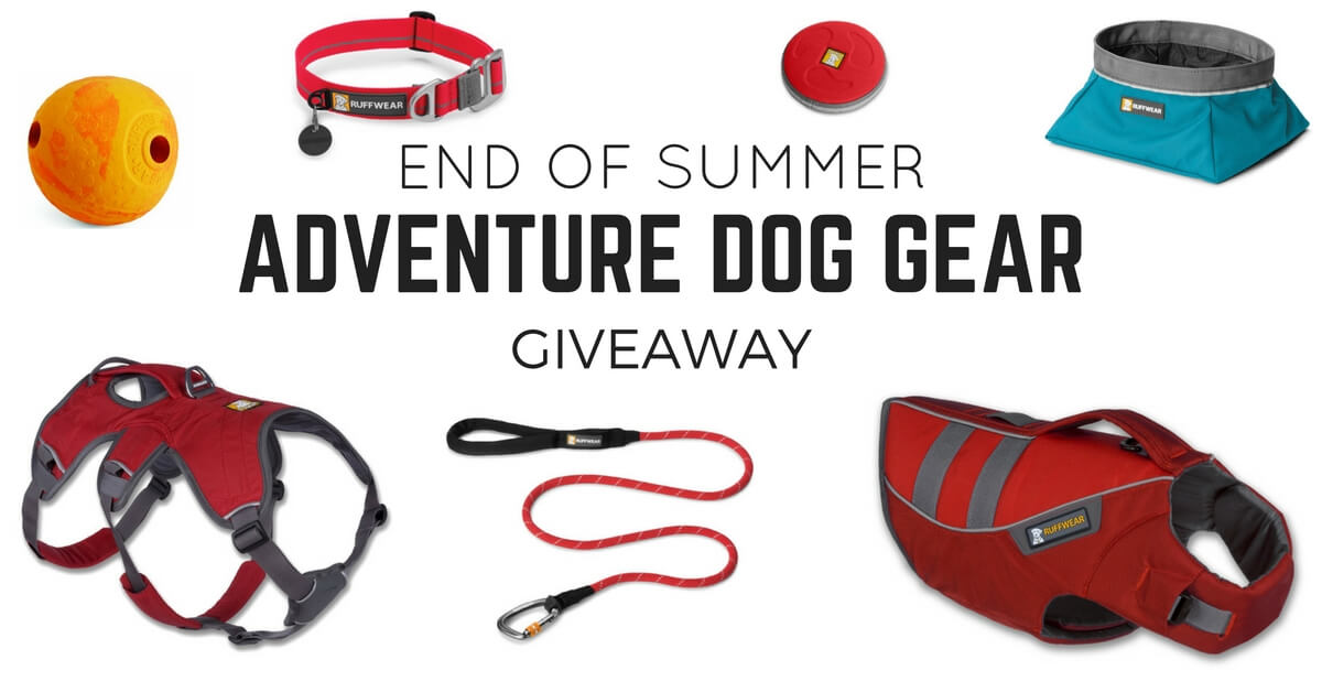 Ruffwear Outdoor Dog Gear Giveaway