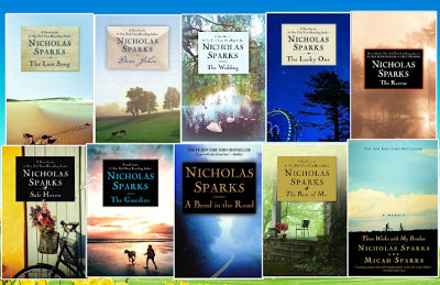 nicholas-sparks-book-covers